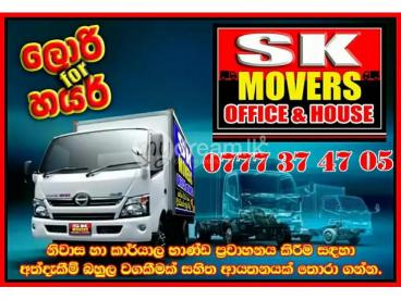 LORRY FOR HIRE AND MOVERS SK