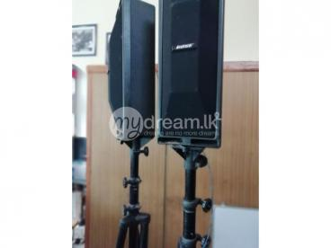 BOSE professional sound system with BOSE amplifier