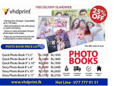 Create Your Custom Photo Book