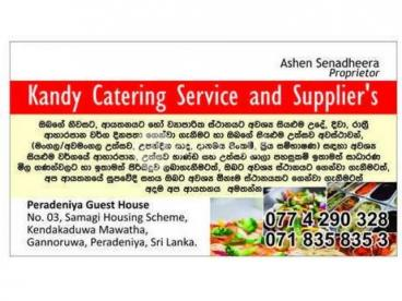 Kandy Catering Services And Suppliers