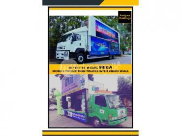 Promotion Trucks - LED video trucks