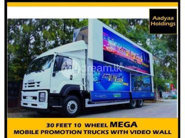 LED video display Promotion Trucks