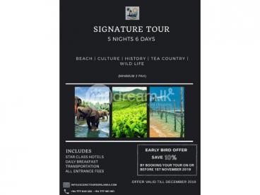 Signature Tour – 5 Nights 6 Days – Scenic Tours Sri Lanka