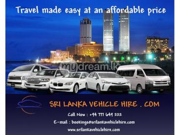 Cars / Vans / Mini Buses / For Rent