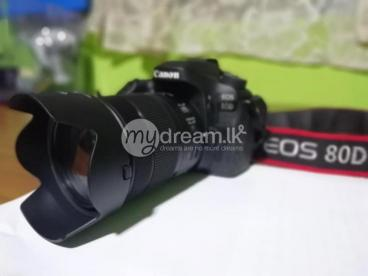 Canon 80D with 18-135mm Lens