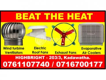 Roof exhaust fans srilanka , wall Exhaust fans  Srilanka  roof ventilators, turbine ventilators ,Exh