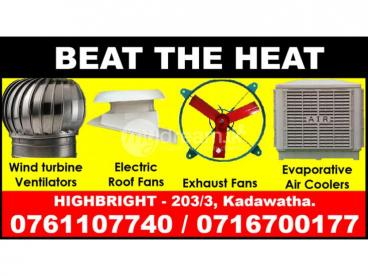 Roof Exhaust fans Srilanka,  Exhaust fans,wall fans