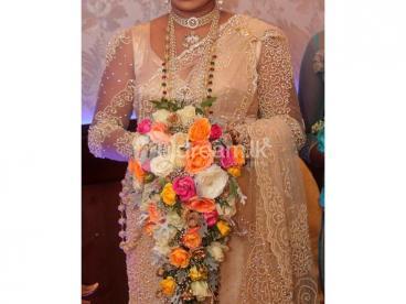 Bridal  Saree (Kandyan Madeup)