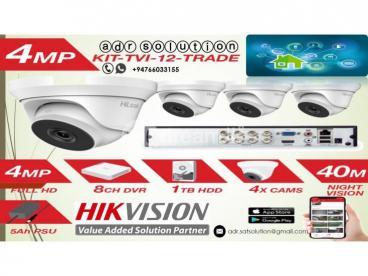 Hik Vision 8Channel CCTV System