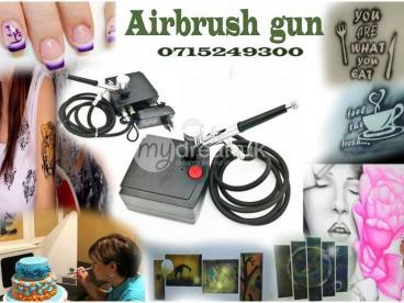 Airbrush gun with compressor +Cake Decorating + Makeup+ Paint +Art