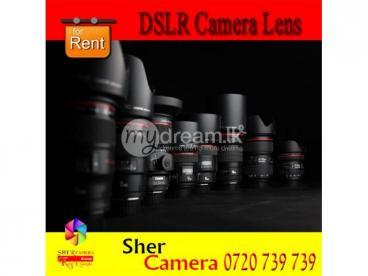 DSLR Camera Lens For Rent In Kandana