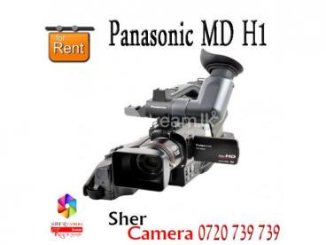 Panasonic MD H1 HD Video Camera FOR RENT
