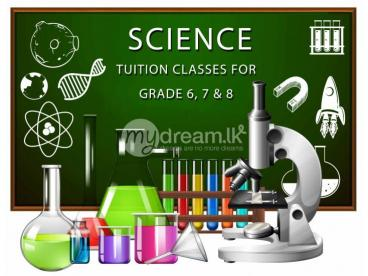 SCIENCE TUITION CLASSES FOR GRADE 6, 7 & 8 STUDENTS
