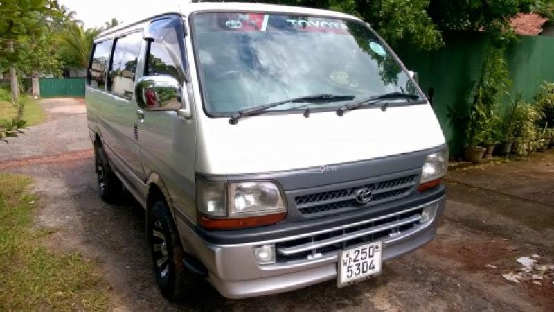 Dolphin Hiace LH 113 (Long Model)