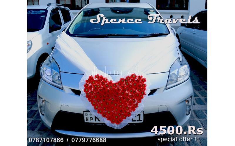 Hybrid Wedding Car Wedding Transport Colombo