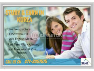 STUDY & WORK IN KOREA