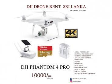 DJI Drone Rent SRI LANKA