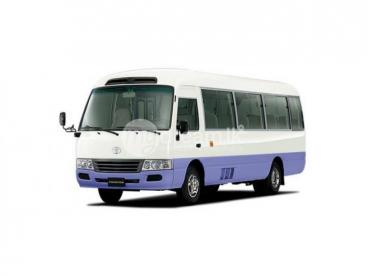 Staff Transport Service A/C Bus - Jalthara to Lake House