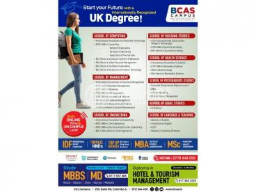BCAS Study Programs