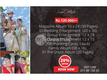 Special Wedding Photography Offers 2020