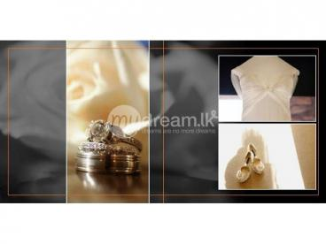 Wedding Photography and Cover the Albums