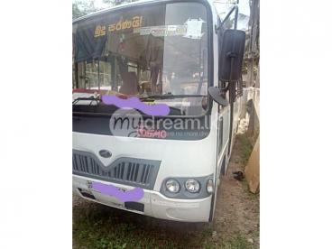 Staff transport bus