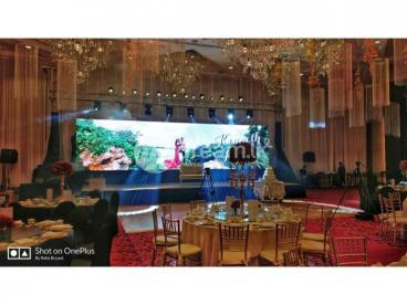 LED Video screen and live streaming
