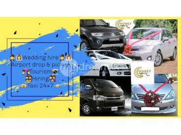 Honey wedding car & hire - kuruwita & eheliyagoda