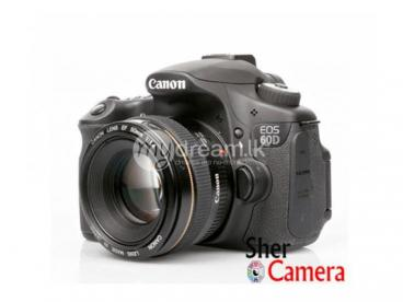Canon 60D DSLR Camera For Rent