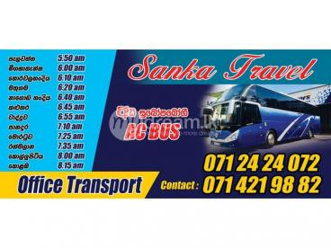 Office Transport matugama to colombo