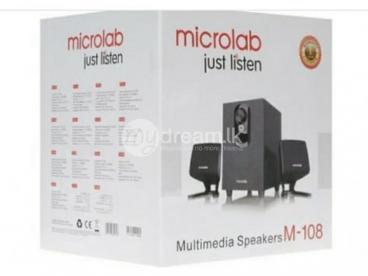 MICROLAB 2.1 BLUETOOTH SUBWOOFER