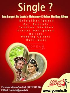 Sri Lankas Number One Wedding Album and Match Making Site